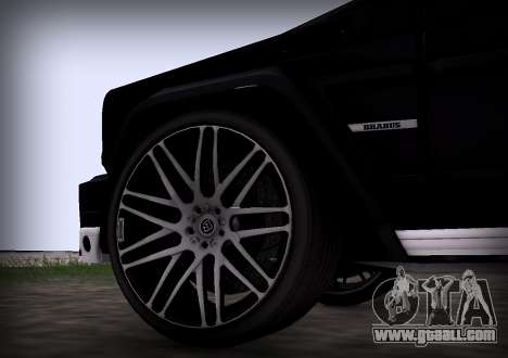 Brabus 800 for GTA San Andreas right view