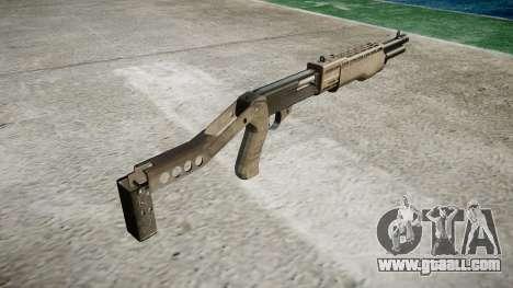 Ружьё Franchi SPAS-12 A-TACS AU for GTA 4 second screenshot