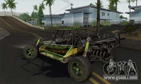 Devilbwoy Buggy for GTA San Andreas left view