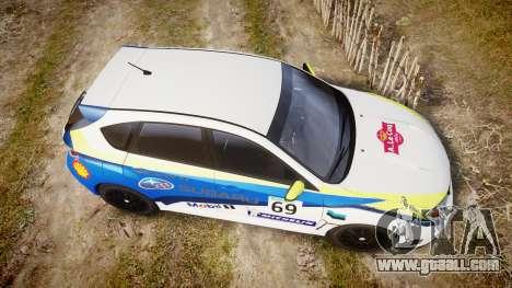 Subaru Impreza Cosworth STI CS400 2010 Custom for GTA 4 right view
