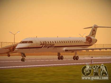 Bombardier CRJ-700 Horizon Air for GTA San Andreas