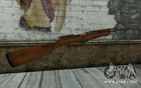 СКС (Battlefield: Vietnam) for GTA San Andreas second screenshot