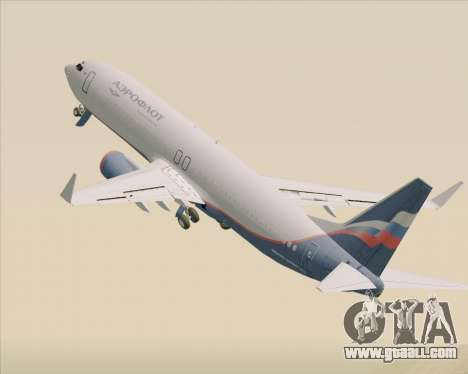 Boeing 737-8LJ Aeroflot - Russian Airlines for GTA San Andreas