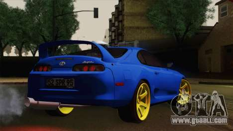 Toyota Supra Twin Turbo for GTA San Andreas left view