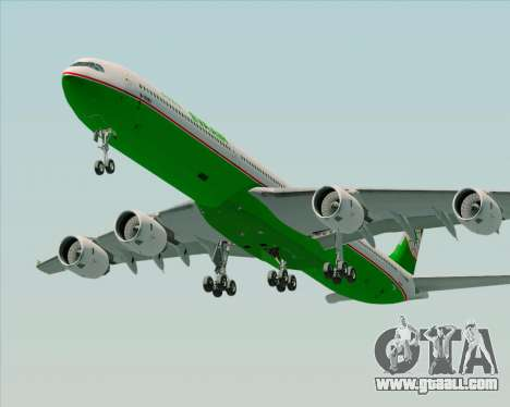 Airbus A340-600 EVA Air for GTA San Andreas engine