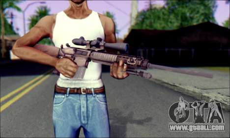 M110 with an Optical sight for GTA San Andreas third screenshot