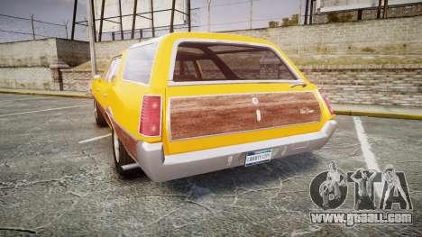 Oldsmobile Vista Cruiser 1972 Rims2 Tree3 for GTA 4 back left view
