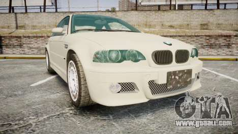 BMW M3 E46 2001 Tuned Wheel White for GTA 4