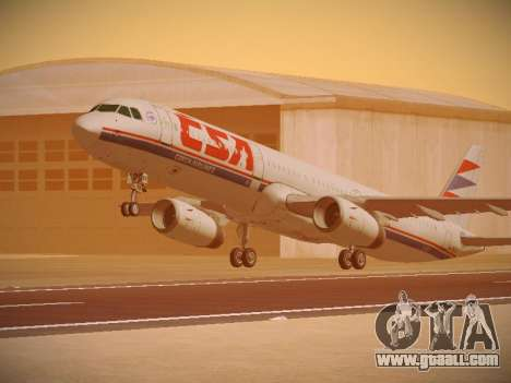 Airbus A321-232 Czech Airlines for GTA San Andreas