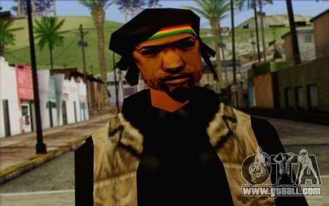 Yardies from GTA Vice City Skin 2 for GTA San Andreas third screenshot