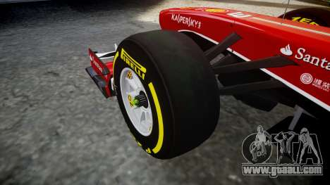 Ferrari F138 v2.0 [RIV] Massa TSD for GTA 4 back view