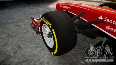 Ferrari F138 v2.0 [RIV] Massa TSD for GTA 4 back view