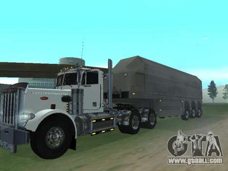 Box Glass Trailer for GTA San Andreas back left view