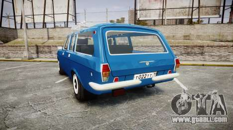 GAS-24-12 Volga Wh1 for GTA 4 back left view