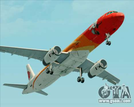 Airbus A321-200 Air China (Beautiful Sichuan) for GTA San Andreas