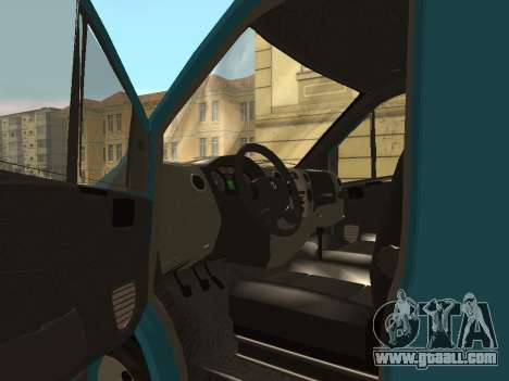 GAZelle Next for GTA San Andreas back view