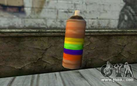 Spray Can from Beta Version for GTA San Andreas second screenshot