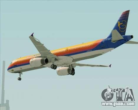 Airbus A321-200 Air Jamaica for GTA San Andreas wheels