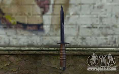American knife for GTA San Andreas