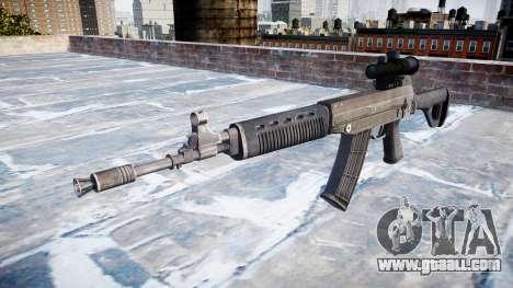 Machine QBZ-03-1 target for GTA 4
