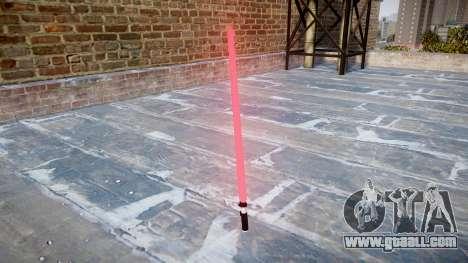 Laser sword for GTA 4 second screenshot