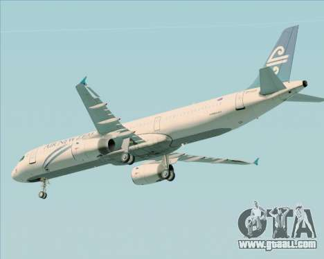 Airbus A321-200 Air New Zealand for GTA San Andreas engine
