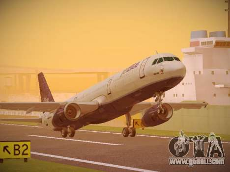 Airbus A321-232 jetBlue Batty Blue for GTA San Andreas