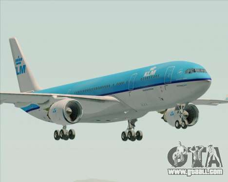 Airbus A330-200 KLM - Royal Dutch Airlines for GTA San Andreas