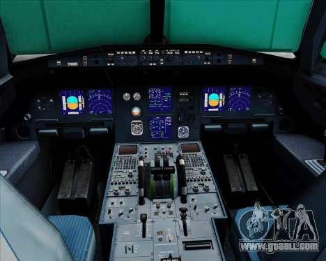 Airbus A321-200 TransAsia Airways for GTA San Andreas interior