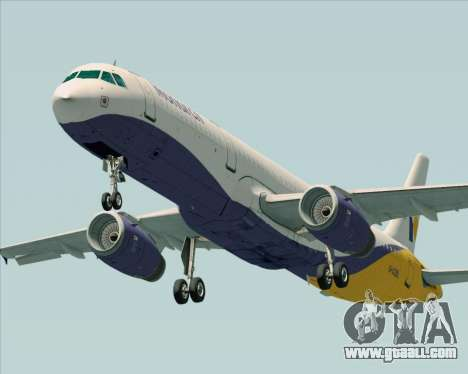 Airbus A321-200 Monarch Airlines for GTA San Andreas left view