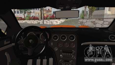 Alfa Romeo Brera RS GT-4 Mod for GTA San Andreas right view