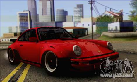 Porsche 930 Turbo Look 1985 Tunable for GTA San Andreas inner view