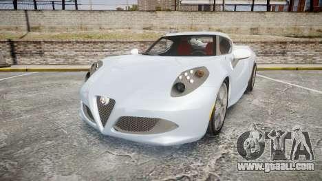 Alfa Romeo 4C for GTA 4
