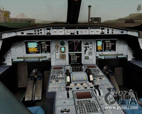 Airbus A350-900 Philippine Airlines for GTA San Andreas interior