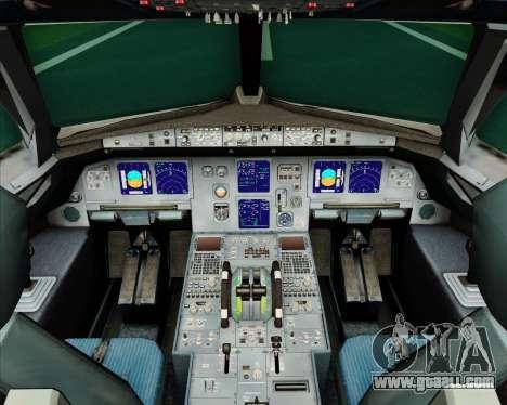 Airbus A321-200 Air Jamaica for GTA San Andreas interior
