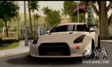 Nissan GTR Tuning for GTA San Andreas