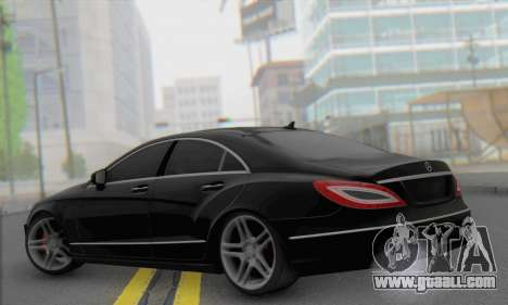 Mercedes-Benz CLS 63 for GTA San Andreas left view
