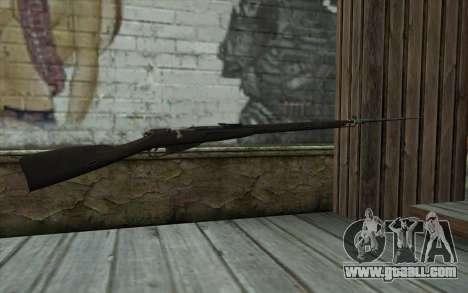 The Mosin-v14 for GTA San Andreas second screenshot