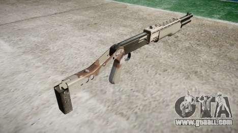 Ружьё Franchi SPAS-12 Choco for GTA 4 second screenshot