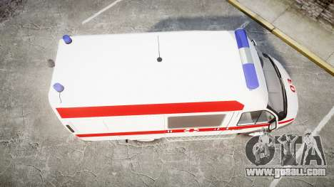 GAS-32214 Ambulance for GTA 4 right view