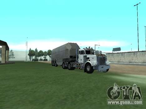 Box Glass Trailer for GTA San Andreas left view