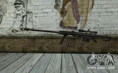 M107 for GTA San Andreas