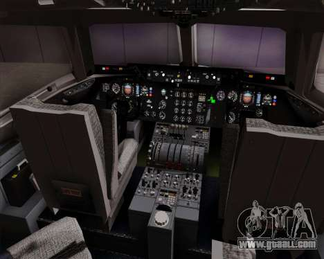 McDonnell Douglas DC-10-30 Singapore Airlines for GTA San Andreas interior