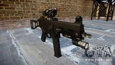 Gun UMP45 Kryptek Typhon for GTA 4