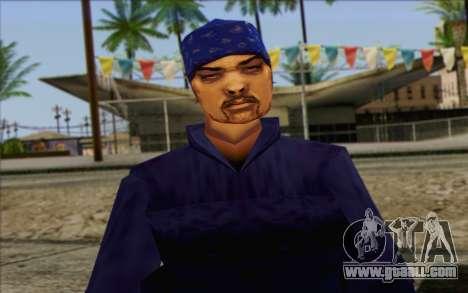 Diablo from GTA Vice City Skin 2 for GTA San Andreas third screenshot