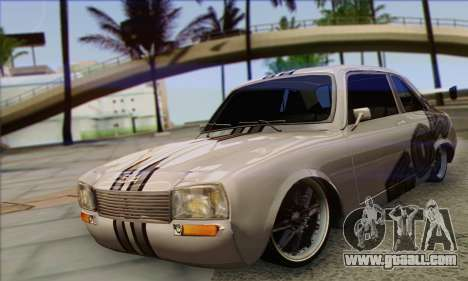 Peugeot 504 Drift Tuning for GTA San Andreas
