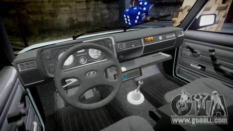 VAZ-21054 for GTA 4 inner view