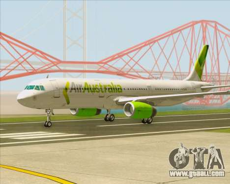 Airbus A321-200 Air Australia for GTA San Andreas left view