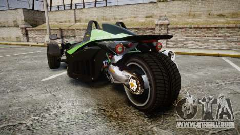 KTM Ducati for GTA 4 back left view