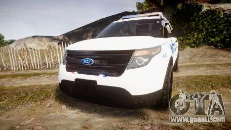 Ford Explorer 2013 PS Police [ELS] for GTA 4
